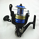 Buy 3000/5000 4+1BB Aluminum Fishing Metal Spinning Reel Front Drag 4.9:1 Gear Ratio