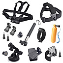 15-In-1 Hot Outdoor Sports Camera Accessories Kit For GoPro Hero 4 / 3+ / 3 / 2 / 1