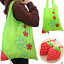 Strawberry Shaped Design Non-Woven Shopping Bag(Random Color)