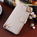 Buy Fashion 3D Flower Bling Diamond Flip Cover PU Leather Case Holster Samsung Galaxy A5 (Assorted Color)