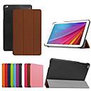 9,6-Zoll-Dreifach-Faltung hochwertigen PU Ledertasche für Huawei MediaPad t1 10 (verschiedene Farben)