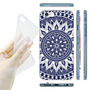 Blue and White Porcelain Grain TPU Soft Back Case for iPhone 6/6S