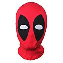 Buy Cosplay Mask/Zentai Accessories Dead Super Hero Mutant Wilson Mask Hood Balaclava Face Adjustable Halloween Black/Red Unisex