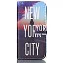 Buy York City Pattern PU Leather Phone Case iPhone 6