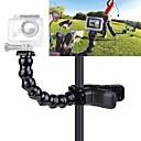 GoPro hero tilbehør kjever flex klemarm feste og justerbar svanehals for GoPro kamera helten 4/3 + / 3 / 2/1 svart
