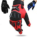 Buy Scoyco Men's Fashion Sports Motorcycle Full Finger Gloves Windproof Breathable Racing Bicycle Riding Black M/L/XL