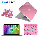 ENKAY 4 in 1 Crystal Protective Case + Screen Protector + Keyboard Film + Anti-dust Plugs for MacBook Pro Retina 13.3