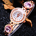 Buy Women's New Luxury Trend Round Diamond Dial Strap Fashion Quartz Bracelet Watch (Assorted Colors)