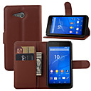 Buy Luxury wallet Leather Case Sony Xperia E3/E4/E4G/M2/M4/T3/C4 Credit Card Holder