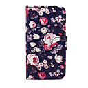 Flowers Pattern PU Leather Case with Stand for Samsung Galaxy S3 Mini I8190/S4 MINI I9190/S5 Mini