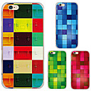 MAYCARI® Geometric Shapes in Different Colors Transparent Soft TPU Back Case for iPhone 6/iphone 6S(Assorted Color)