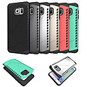 Buy Hybrid TPU + PC Matte Frosted Shield Armor Hard Case Samsung Galaxy S6 Edge Plus/S6 Edge/S6 Active/S6 Cover Cases
