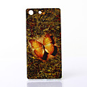 Buy Mysterious Butterfly Pattern TPU Soft Case Sony Xperia M5