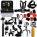 23pcs In 1 Gopro Accessories Mount / Straps / Bags/Case / Dive Filter / Adhesive ForGopro Hero 2 / Gopro Hero 3 / Gopro Hero 3+ / All