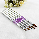 Buy Silver UV Gel Acrylic Nail Art Decorations Brushes Painting Pen Tips Manicure Tool