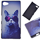Buy Sony Case / Xperia Z5 Pattern Back Cover Cat Hard PC Compact