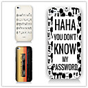 Buy Cartoon Pattern PC Phone Case Back Cover iPhone5C