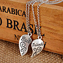 Buy Best Friends Broken Heart Pendant Necklaces Wedding/Party/Daily/Casual 1pc
