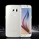 Buy Samsung Galaxy Case Ultra-thin / Transparent Back Cover Solid Color TPU SamsungS6 edge plus S6 S5 Mini