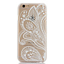 Doopootoo™ White Floral Paisley Flower Mandala Painted Pattern Slim Plastic Back Hard Case Cover For iPhone 6 4.7