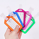 Buy Travel Luggage Tag Accessory Waterproof Rubber