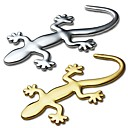 Buy ZIQIAO 3D Pure Metal Gecko Stickers Personality Sticker Car Decoration