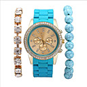 Buy Women's Fashion Stainless Steel Band Quartz Analog Wrist Watch(Assorted Colors) Cool Watches Unique