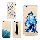 Buy MAYCARI®Wolf Soft Transparent TPU Back Case iPhone 6/6S(Assorted Colors)
