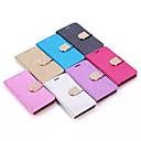 paillettes de luxe en cuir PU de cas complète du corps avec support pour s5 / 6/6 bord / 6 bord plus / s7 / bord s7 (couleurs assorties)