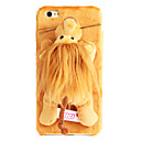 Cute Plush Animals Case Brown Lion for Iphone6/6s
