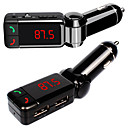 Buy Car Kit MP3 Bluetooth Player FM Transmitter Modulator SD TF Card USB drive Remote
