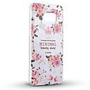 Buy Minimal Peony Soft Protective Back Cover Samsung Case Galaxy S7edge/Galaxy S7