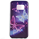 Buy Samsung Galaxy S7 Edge Pattern Case Back Cover Butterfly TPU edge plus / S6