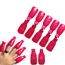 Buy Remover Gel Polish Nail Art Soakers UV Degreaser Wrap Tool Nails Soak Cap Clip