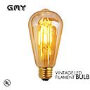 1 pcs GMY E27 3.5W 4 COB ≥330 lm Warm White ST64 edison Vintage LED Filament Bulbs AC 220-240 V 2200K