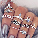 Alloy Ring Statement Rings / Set Party / Daily / Casual 10pcs