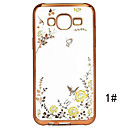 Buy Samsung Galaxy Case Transparent Back Cover Flower TPU J7 (2016) / J5