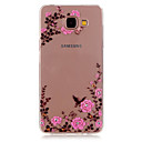 Buy Flowers Bread Relief TPU Transparent Soft Phone Case foe Samsung Galaxy A3(2016)/A5(2016)