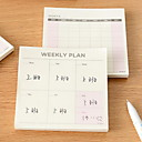 Buy Memos Notepad A045 Weekly/Monthly Plan Function Little Book