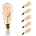 Buy E27 LED Filament Bulbs ST64 COB 180 lm Amber Decorative AC 220-240 V Edison Style Bulb