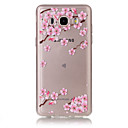 Buy TPU Material Plum Flower Pattern Painted Relief Phone Case Samsung Galaxy J710/J510/J5/J310/J120/G530