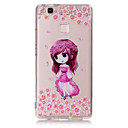 Buy TPU Material Little Girl Pattern Painted Relief Phone Case Huawei P9 Lite/P9/P8 Lite