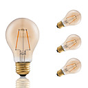 Buy 2W E26 LED Filament Bulbs A19 COB 180 lm Amber Dimmable / Decorative AC 110-130 V