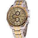 Buy Men's Fashion Watch Wrist watch / Quartz Stainless Steel Band Cool Casual Gold