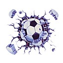 Buy ZIQIAO 3D Funny Car Stickers Football Styling Waterproof