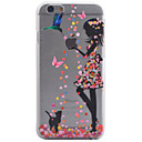 Buy 3D Relief Feel Colour Angel Girl Pattern PC Material Phone Shell iPhone 5 SE 5S 6 6S 6Plus Plus