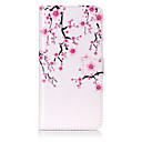 Buy PU Leather Material Plum Flower Pattern Painting Phone Cases iPhone 7 Plus/7/6s Plus / 6 Plus/6S/6/SE 5s