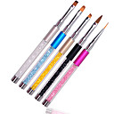 Buy Professional Nail Art Design Brush Pen Drawing Lines Painting Carving Gradient UV Gel Salon Beauty Tools