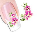 Buy Seductive Flowers Nail DIY Art Stickers Water Transfers Decals Sticker Tip Decal Manicure