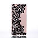 Buy TPU Material Three Chrysanthemum Black Pattern Soft Shell Phone iPhone 7 Plus/7/6s Plus / 6 Plus/6S/6/SE 5s/5/5C
